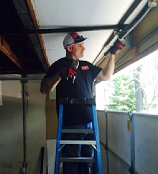 garage door technician Mark Brolley